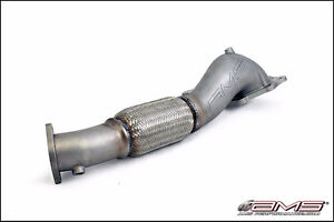 AMS Mitsubishi Lancer Evolution X Widemouth Downpipe