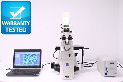 Zeiss Axiovert 200 Fluorescence Phase Contrast Microscope Unit3