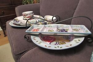 HERITAGE MINT DISH AND SERVING WARE