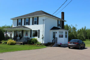 2-storey, 5-bedroom house in Acadieville, NB