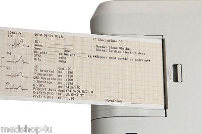 NEW  CONTEC-ECG300G-DIGITAL-3-CHANNEL-ELECTROCARDIOGRAPH-ECG-MACHINE-SOFTWARE-FDA