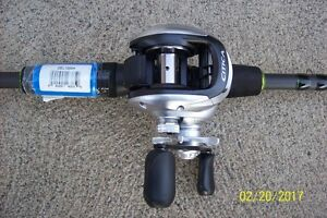 Brand New Shimano Citica 200G7 Fishing Reel & 7' Zeles Rod combo