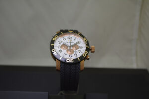 BRAND NEW TW STEEL WATCH ROSE AND BLACK #TW77