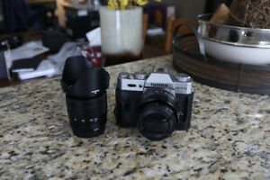 Fujifilm X-T10 Package (includes 16-50mm 3.5-5.6 + 35mm 1.4 lens
