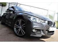 2016 16 BMW 3 SERIES 3.0 335D XDRIVE M SPORT 4D AUTO-OPAL WHITE MERINO LEATHER-M