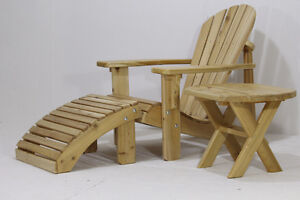 Amish made white cedar Adirondack/Muskoka chair - FREE SHIPPING