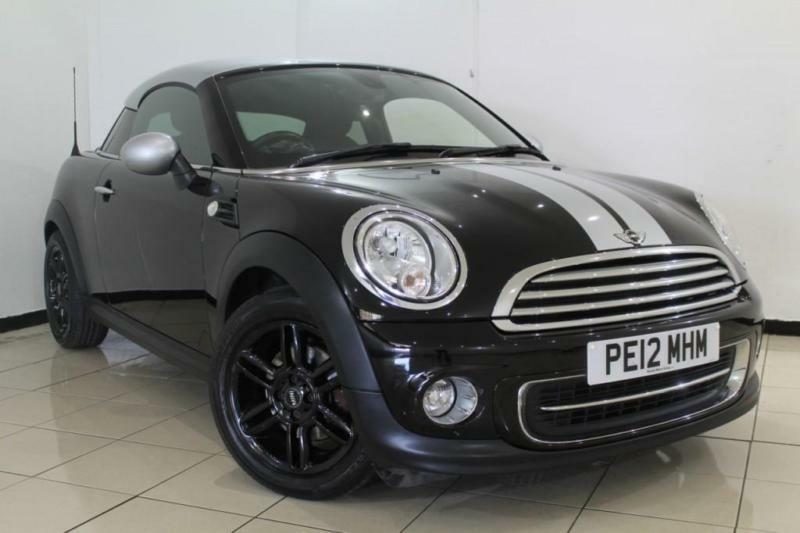 2012 12 MINI COUPE 1.6 COOPER 2DR 120 BHP