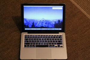 "Mid 2010 Macbook Pro 13"" – 500 GB HDD -  Core 2 Duo"