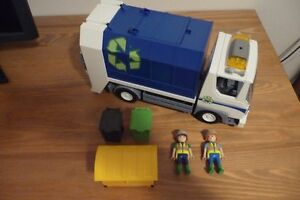 PLAYMOBIL - CAMION RECYCLAGE 4129
