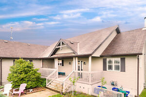 Gorgeous Custom Bungalow on 9+ Workable Acres