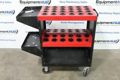 Huot Toolscoot Cat 40 Taper Cnc Mill Tool Cart