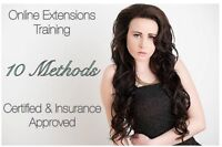 ⭐️Learn HAIR EXTENSIONS⭐️CERTIFIED