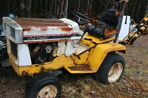 1964 Cub Cadet Tractor with Tiller, Plow, Snow Blower and Mower