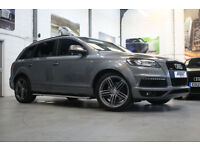 Audi Q7 3.0 TDI Quattro S Line Plus, 13 Reg, 49k, Graphite Grey, ONE OWNER, FSH.