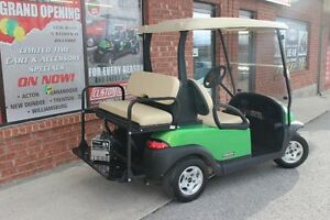 2012 CLUB CAR PRECEDENT GOLF CART ELEC 48VOLT SYNERGY GREEN Kingston Kingston Area image 4
