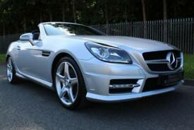 2011 61 MERCEDES-BENZ SLK 1.8 SLK200 BLUEEFFICIENCY AMG SPORT ED125 2D AUTO 184