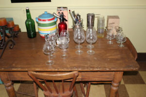 Barware wine snifter glasses grappa soda maker jigger shaker bbq