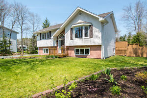 Beautiful Split Entry on a large semi-private lot in Timberlea