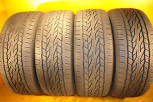 Continental Cross Contact SET OF 4 TIRES 225 65 17 – LIKE NEW!