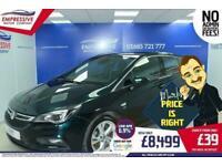 2017 17 VAUXHALL ASTRA 1.6 SRI CDTI 5D 108 BHP DIESEL