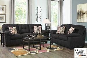Brand NEW Akerly Ebony Sofa Set! Call 306-970-3822!