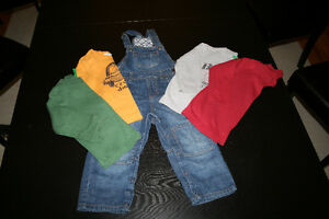 Overall set for boy