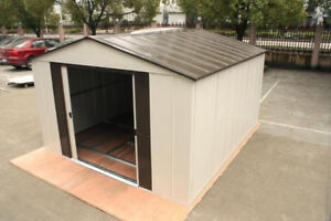 GARDEN SHEDS WITH GROUND FRAME 8X11FT OR 10X11FT