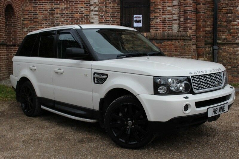 land rover range rover sport 3 6 tdv8 hse white 2008 in poole dorset gumtree. Black Bedroom Furniture Sets. Home Design Ideas