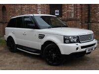 Land Rover Range Rover Sport 3.6 TDV8 HSE (white) 2008