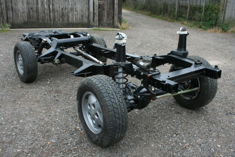 Land Rover Discovery 300 Tdi Rolling Chassis In
