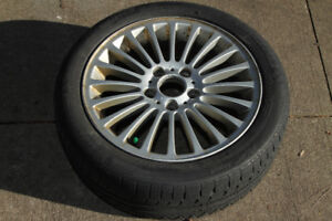E46 BMW Spare Tire and Wheel