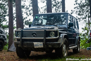 2001 Mercedes-Benz G-Class G55 AMG W463 SUV, Crossover