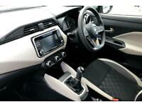 2017 Nissan Micra 1.5 dCi Acenta (s/s) 5dr Hatchback Diesel Manual