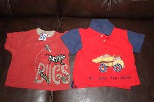 2 t-shirts, size 2