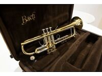 Bach Stradivarius BFlat Trumpet - Model 37 ML