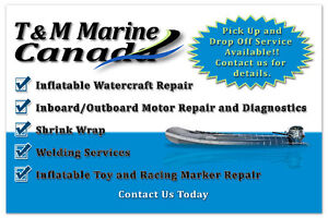 Inflatable Boat and Watercraft Repairs and Modifcations