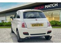 2014 Fiat 500 S S-A Semi Auto Hatchback Petrol Automatic