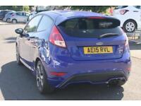 2015 Ford Fiesta 1.6 ST 2 EcoBoost Petrol blue Manual