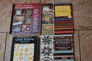 QUILTING BOOKS ,4 HOW TO AND SECRETS OF SUCCESS,SKILL BUILDING
