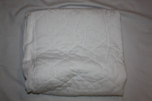 Waterproof Mattress Cover - Crib/Toddler Bed Sized