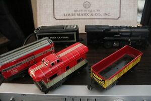 VERY MINT EARLY 50S MARX VINTAGE STEAM TRAIN SET Peterborough Peterborough Area image 2