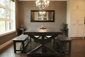 Reclaimed Wood Dining Table starting @ $2295, and More! By LIKEN Woodworks