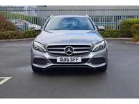 2015 MERCEDES BENZ C CLASS Mercedes Benz C220 BlueTEC Estate Sport 5dr Auto