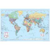 World Map Poster Print 36x24 Wall Home Art School Decor