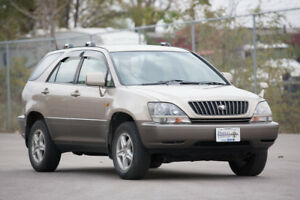 1998 Toyota Harrier Right Hand Drive Lexus RX Postal Vehicle JDM