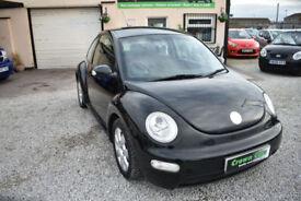 Volkswagen Beetle 2.0 2003MY RHD 3 DOOR BLACK+BARGAIN