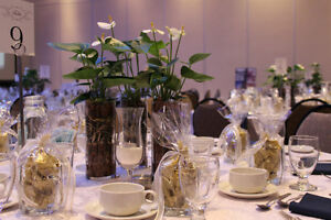 Ikea Glasses Used Once for centrepieces