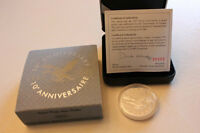 SILVER PROOF FLYING LOON DOLLAR 1997