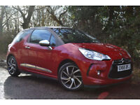 2015 Citreon DS 3 1.6BlueHDi DStyle Nav £164 A Month £0 Deposit