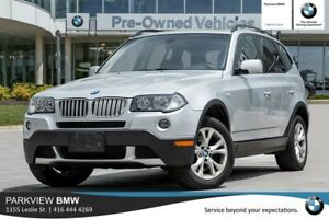 2009 BMW X3 xDrive30i xDrive30i|PDC|PANO.ROOF|ALLOYS|AS-IS